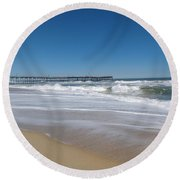 Outer Banks Nc Round Beach Towel