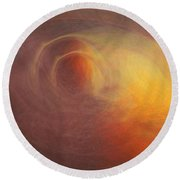 Outerspace Round Beach Towel