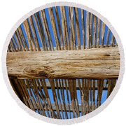 Overhead Shelter Round Beach Towel