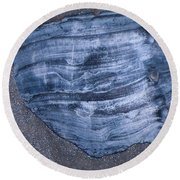 Oyster Shell Round Beach Towel
