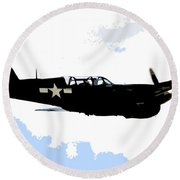 P 40 Round Beach Towel