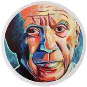 Pablo Picasso Round Beach Towel