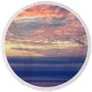 Pacific Colors Round Beach Towel