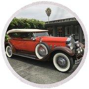 Packard Round Beach Towel