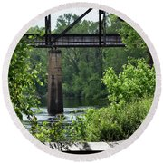 Painted Congaree Four Round Beach Towel