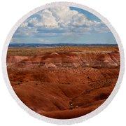 Painted Desert #4 Round Beach Towel