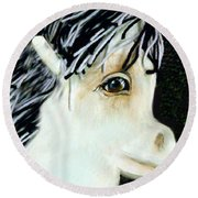 Painted Pony Round Beach Towel