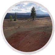 Painted Sands Round Beach Towel