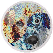 Painters Helper Round Beach Towel