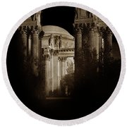 Palace Of Fine Arts Panama-pacific Exposition, San Francisco 1915 Round Beach Towel