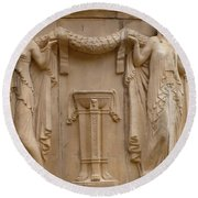 Palace Of Fine Arts Ladies Round Beach Towel