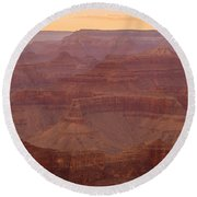 Palace Of The Generous Chieftain Round Beach Towel