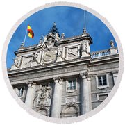Palacio Real Round Beach Towel