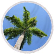 Palm Tree Round Beach Towel