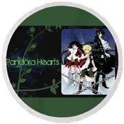Pandora Hearts Round Beach Towel