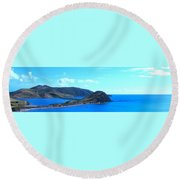 Panhandle Round Beach Towel