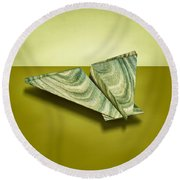 Paper Airplanes Of Wood 19 Round Beach Towel