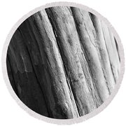 Paper Round Beach Towel