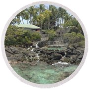 Paradise In Coki Round Beach Towel