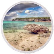 Paradise Island 2 Round Beach Towel