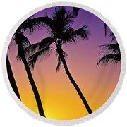 Paradise  Round Beach Towel