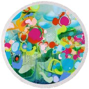 Paradise Outer Limits Round Beach Towel