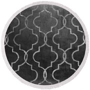 Paris Apartment II Round Beach Towel