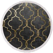 Paris Apartment IIi Round Beach Towel