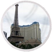 Paris Hotel Round Beach Towel