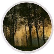 In The Park . Round Beach Towel