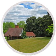 Parkland Cottage Round Beach Towel
