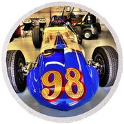 Parnelli At Indianapolis Round Beach Towel