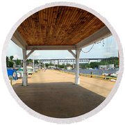 Parry Sound Round Beach Towel