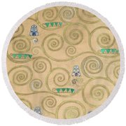 Part Of The Tree Of Life, Part 1 Round Beach Towel