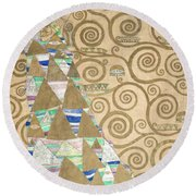 Part Of The Tree Of Life, Part 2 Round Beach Towel