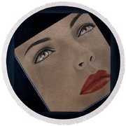 Part Of You Round Beach Towel