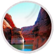 Passage Round Beach Towel