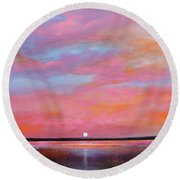 Passion Beach Round Beach Towel