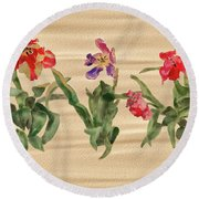 Past Prime Round Beach Towel