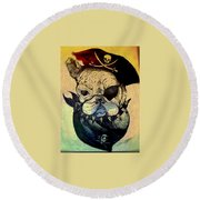 Patch Round Beach Towel