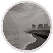 Patcpatch Graphic #84 Round Beach Towel