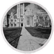 Pathway To The Law Round Beach Towel