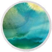 Pathway To Zen Round Beach Towel