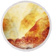 Patina 2 Round Beach Towel