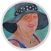 Patricia Round Beach Towel