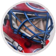 Patrick Roy ... Round Beach Towel