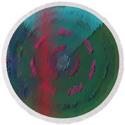 Pattern 118 Round Beach Towel