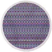 Pattern 56 Round Beach Towel
