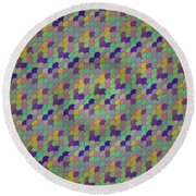 Pattern 61 Round Beach Towel