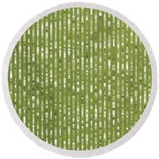 Pattern 76 Round Beach Towel